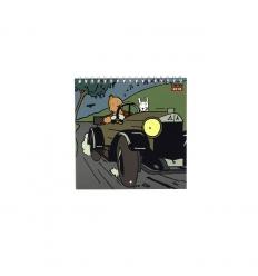 Small 2018 Tintin calendar