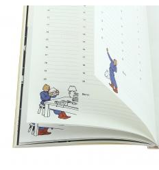 Agenda de bolso Tintin 2018