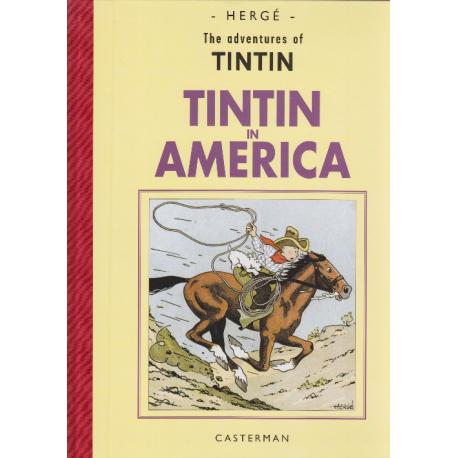 Album facsimile Tintin in America