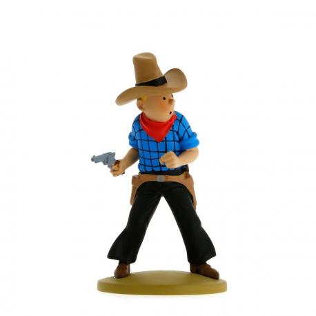 Tintin cowboy