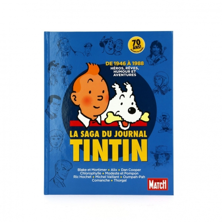 La saga du Journal Tintin - Hors série Paris Match