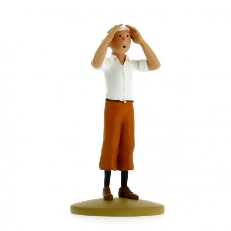 Tintin dans le désert