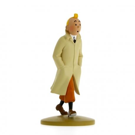Tintin en trench