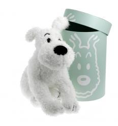 Peluche Milou - 37 cm caixa verde