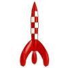 Resin Moon Rocket Tintin 90cm