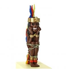 5 - Estatueta Rascar Capac