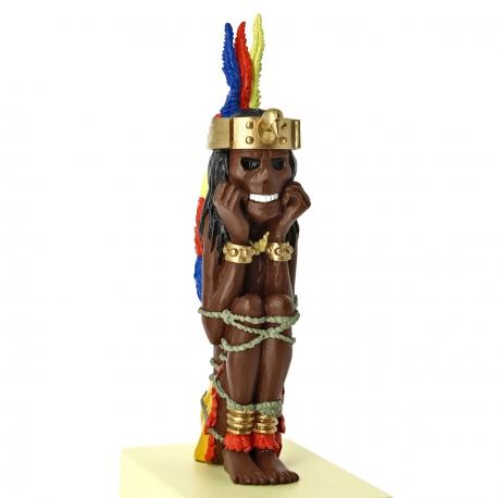 Estatueta Rascar Capac