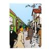 Plastic A4 Folder The Moulinsart Train Station
