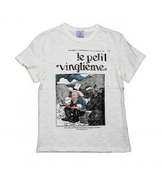 T-shirt Petit Vingtième Tintin en Amérique