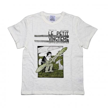 T-shirt Petit Vingtième Tintin Soviet