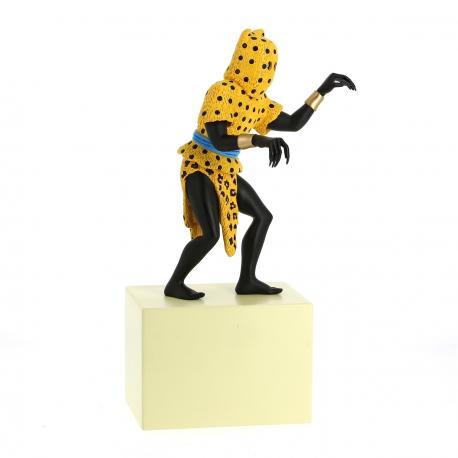 7 - Statuette l'homme-léopard