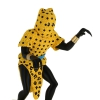 7 - Estatueta homem-leopardo