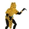 7 - Leopard-man statue