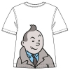 T-shirt Tintin clin d'œil