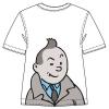 T-shirt Tintin pisca