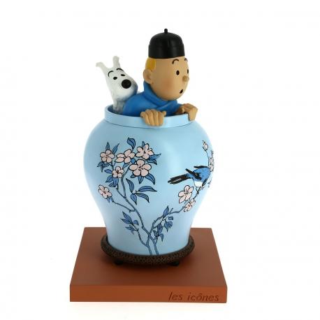 Vaso Lotus Azul