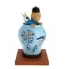 Blue Lotus vase
