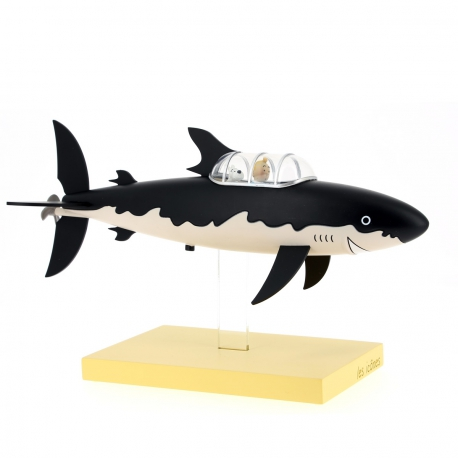 2 - Icons Tintin: Shark submarine