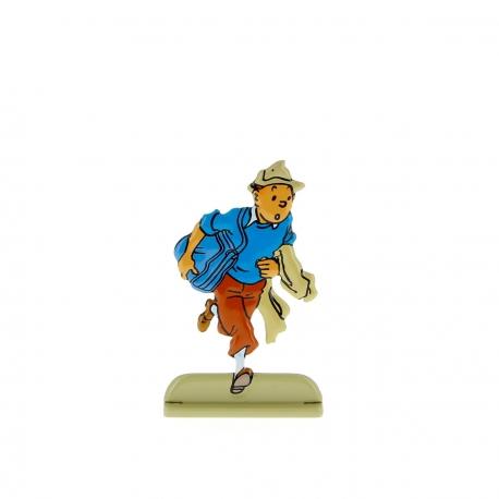 Tintin escaping