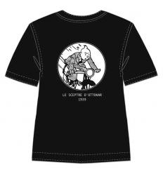 T-shirt Tintin de mota