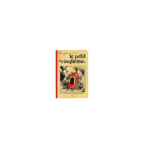 Caderno de notas - Petit Vingtième red racing car