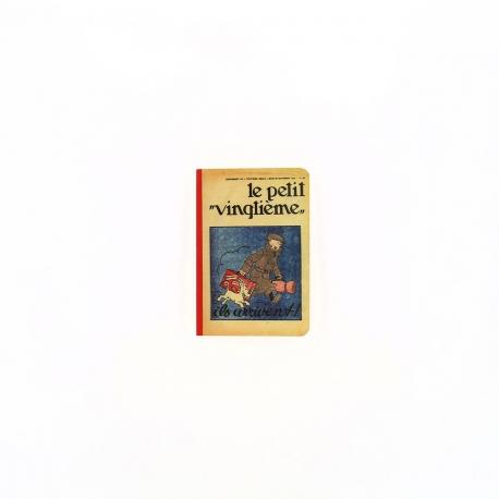 Caderno de notas - Petit Vingtième Ils arrivent !